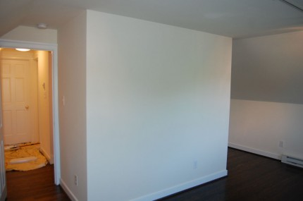 Finished drywall & painting
