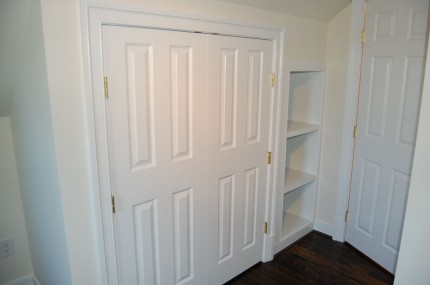 Added Closet Space & Bedroom