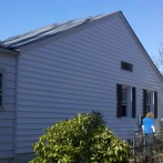 New Exterior Wall and Roof