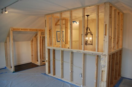 Floor Protection & Loft Framing Progress